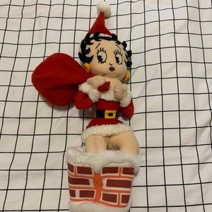 Vintage Betty Boop Christmas Plush